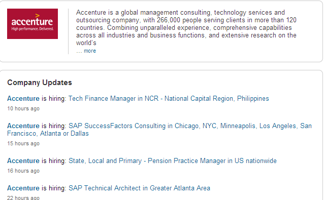 Accenture_LinkedIn Page