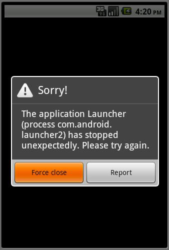 Android Error Reporting