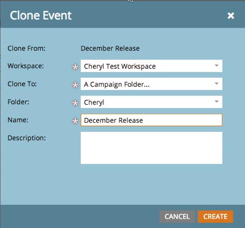 Clone Event