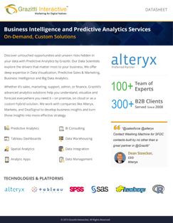 Business Intelligence and Predictive Analytics Services