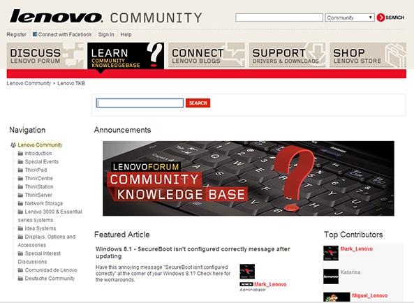 Lenovo Community