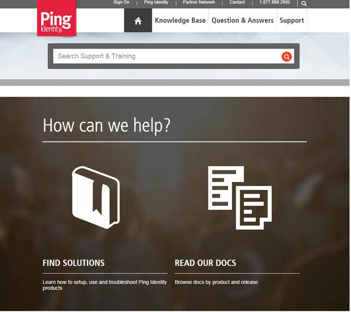 Ping Identity Salesforce Community