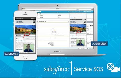 Salesforce1 Service Cloud SOS