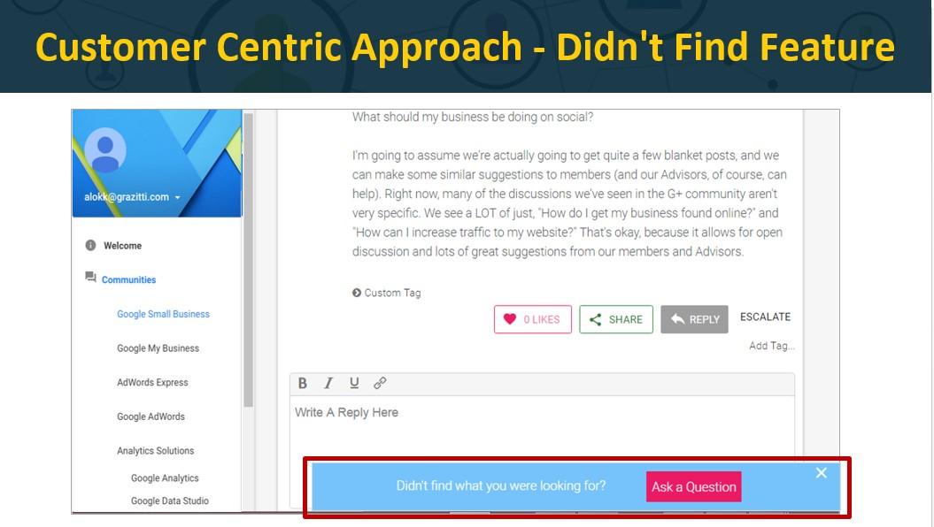 Customer Centric Approach II