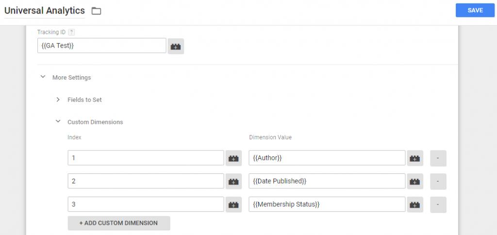 Data Layer and Google Analytics'.