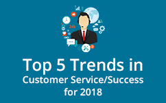 Top 5 customer service trends