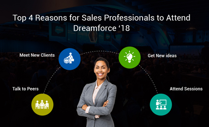 Top reason sales people should go to Dreamforce 2018