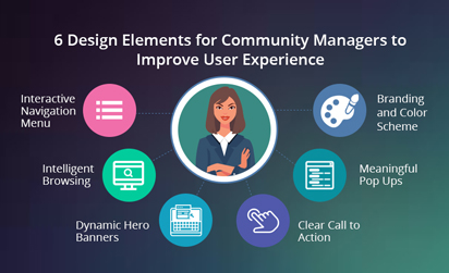 6 Design Elements for Community Managers to Improve User Experience