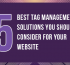 5 Best Tag Management Solutions You Should Co