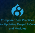 Composer Best Practices for Updating Drupal 8