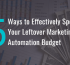 5 Ways to Effectively Spend Your Leftover Mar