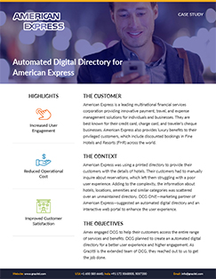 american express case study