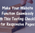 Make Your Website Function Seamlessly with Th