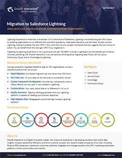 Migration to salesforce lightning