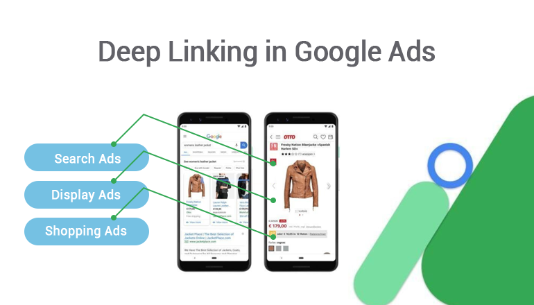 Deep Linking in Google Ads
