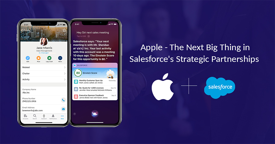 Apple - The Next Big Thing in Salesforce's Strategic Partnerships