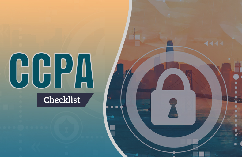 Checklist for CCPA Compliance