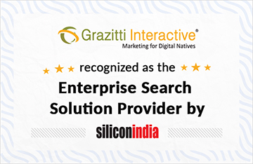 Grazitti Interactive Recognized as the 'Enterprise Support Solution Provider of the Year' by SiliconIndia