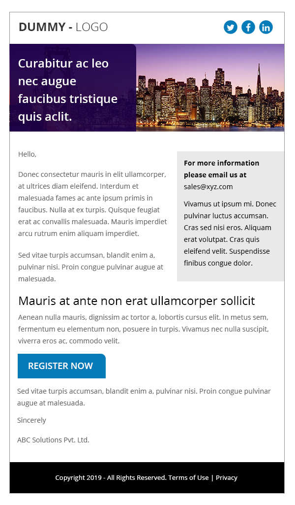 Premium Email 10
