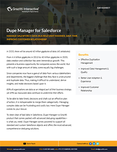 Dupe Manager for Salesforce