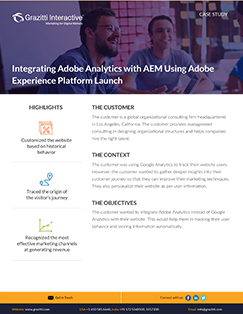 <i>Integrating Adobe Analytics with AEM Using Adobe Experience Platform Launch</i>
