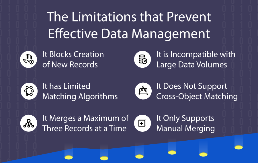 Limitations That Prevent Effective Data Management