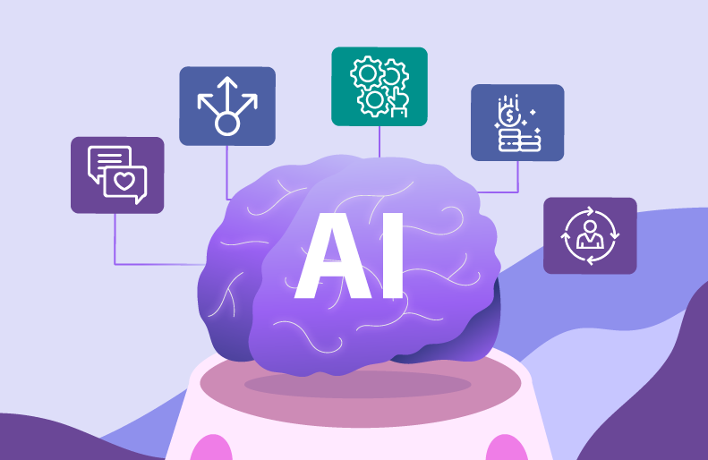Role of Artificial Intelligence in Online Communities