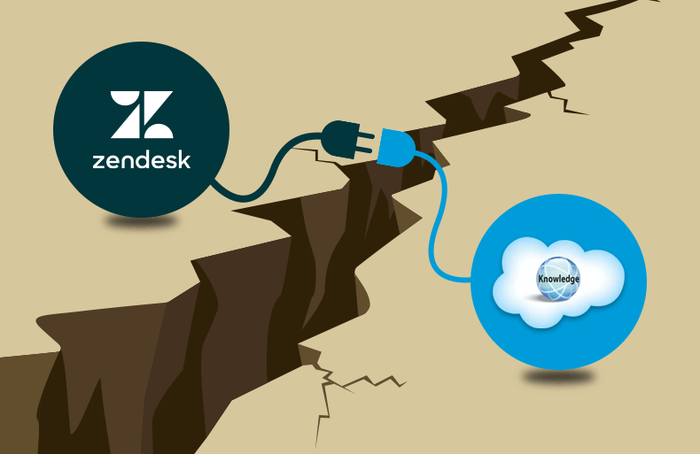 Challenges That Prevent Smooth Data Syncing From Zendesk to Salesforce Knowledge
