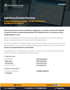 Salesforce Einstein<sup>®</sup> Services
