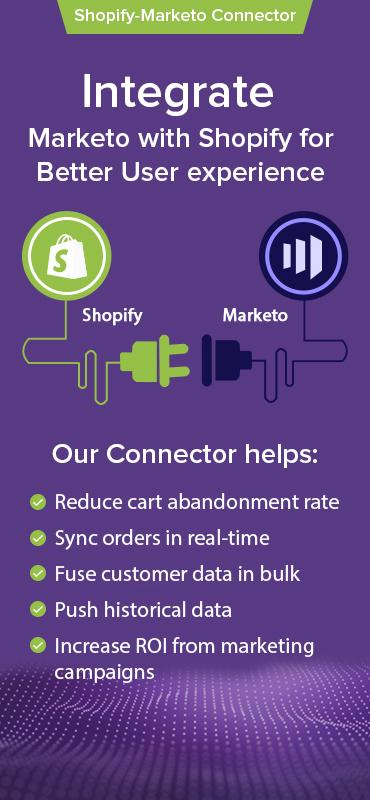 shopify-Marketo