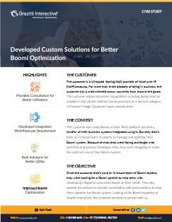 Developed Custom Solutions for Better Boomi Optimization