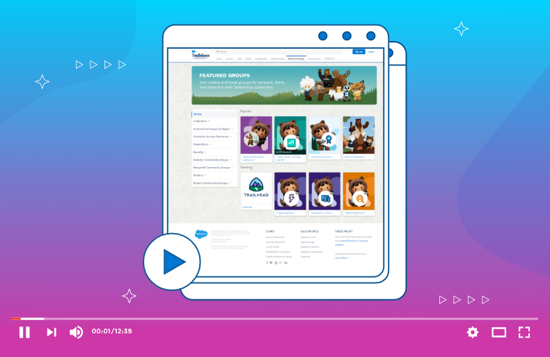 Video Center: Enriching Your Salesforce-Powered Community With Video Content