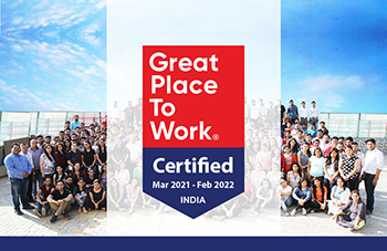 Grazitti Interactive Is Now Great Place To Work-Certified™ for the Second Consecutive Year