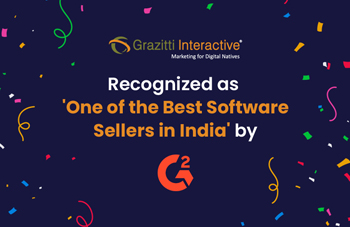 Grazitti Interactive Recognized as One of the Best Software Sellers in India by G2
