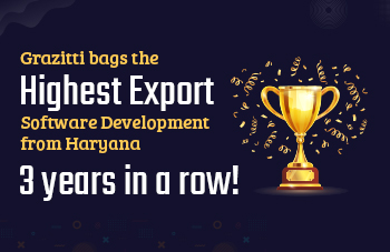 Grazitti Interactive Awarded the 'Highest Export – Software Development from Haryana' by STPI For the Third Consecutive Year