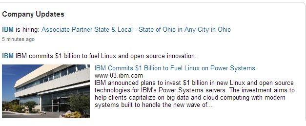 IBM_LinkedIn Page