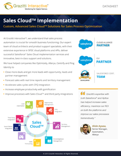 Sales Cloud Implementation Datasheet
