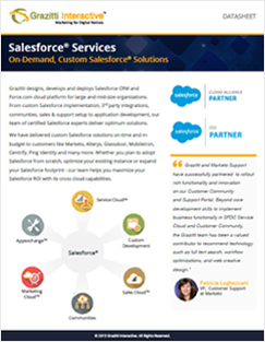 Salesforce Services Datasheet