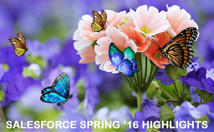 Salesforce Spring '16 Highlights