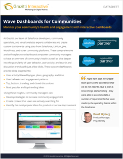 Wave Dashboard Datasheet