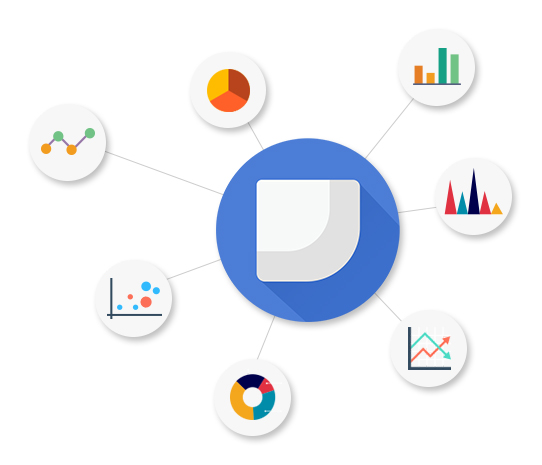 Data management with Google Data Studio