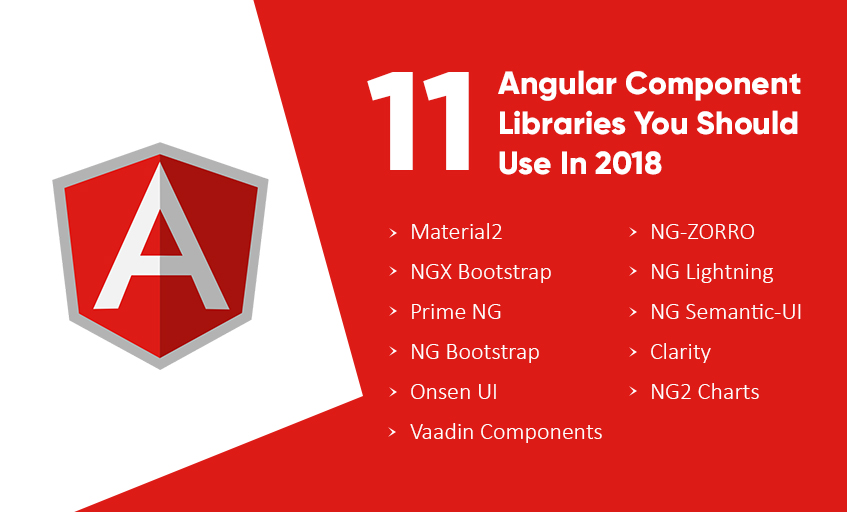 11 Angular Component Libraries You Should Use In 2018