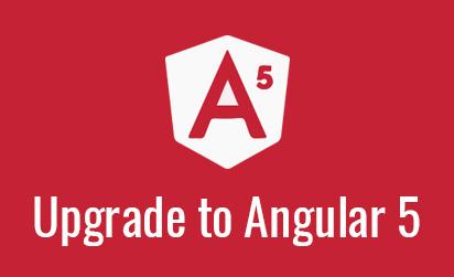 Upgrade to Angular 5