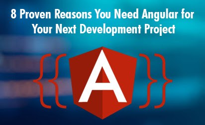 8 Proven reasons you need angular for your next development project